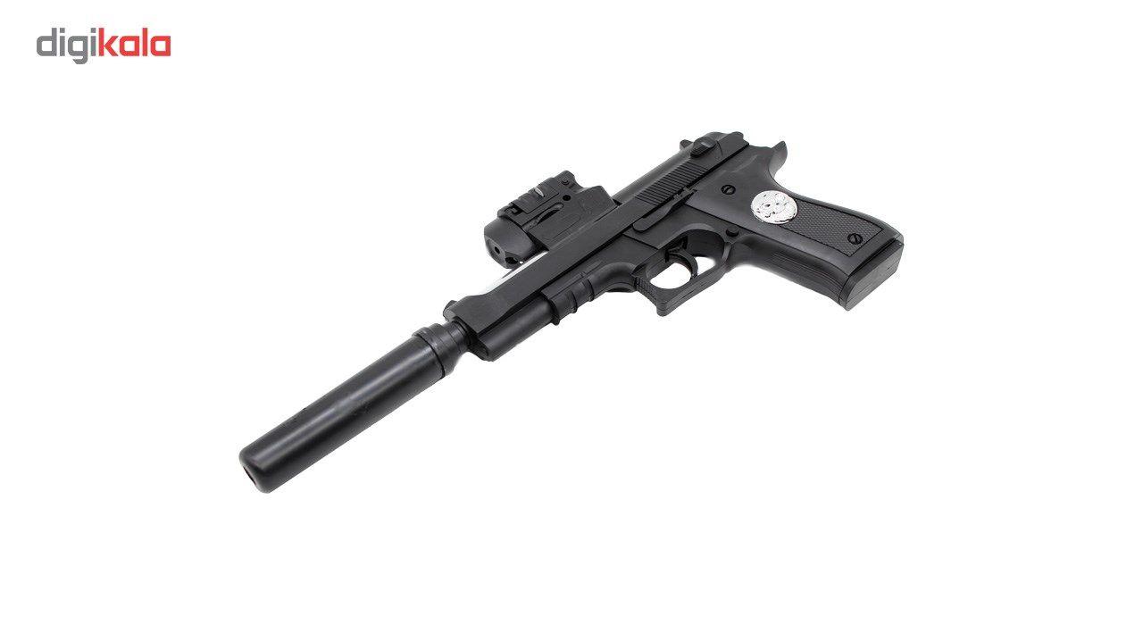 تفنگ اسباب بازی ایر سافت گان مدل A-007 کد KTT-043 main 1 3