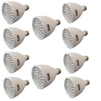 لامپ آفتابی مهتابی  ال ای دی دکو مدل 2060L پایه E27 بسته 10  عددی