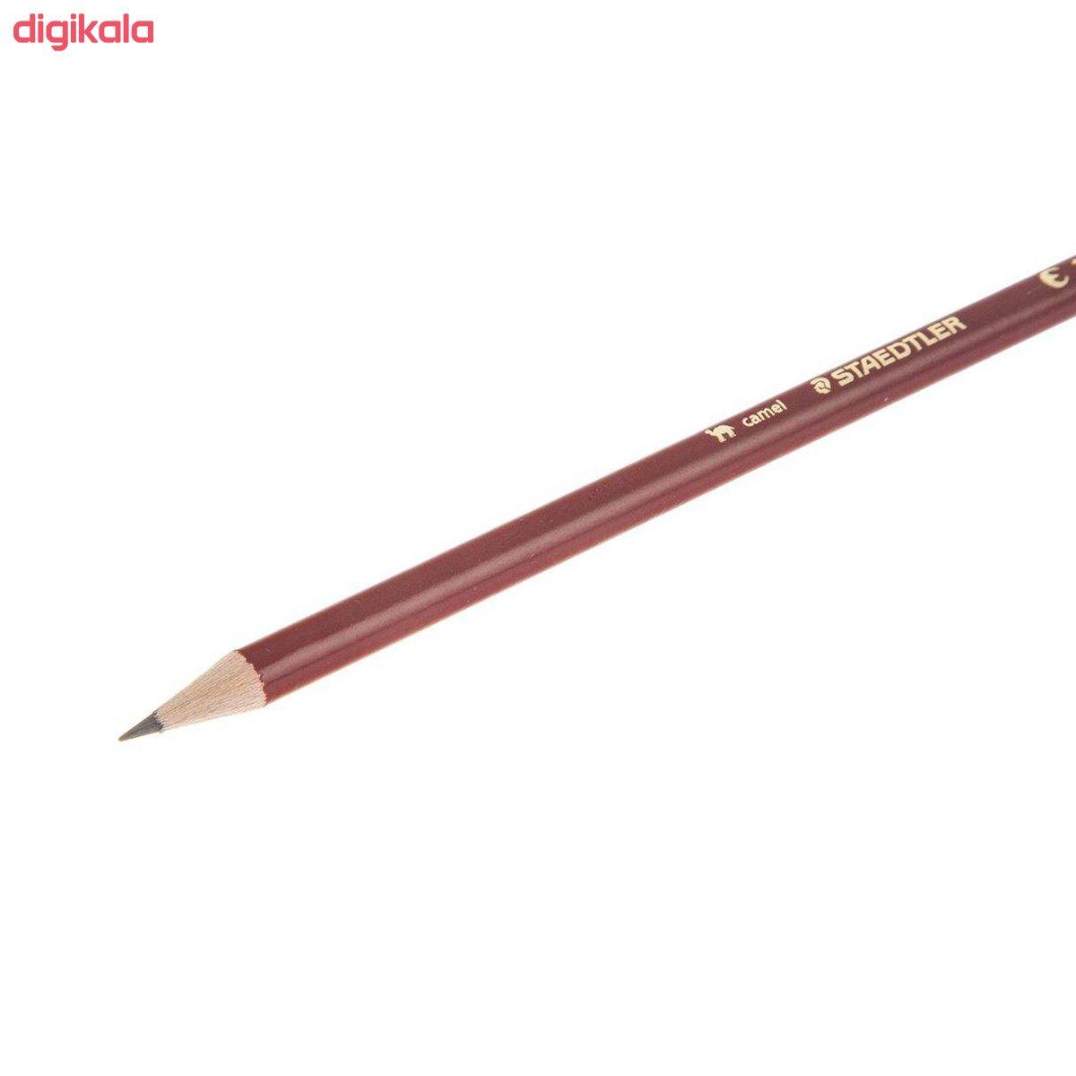 مداد مشکی استدلر مدل Camel کد 10 131 بسته 3 عددی  main 1 2