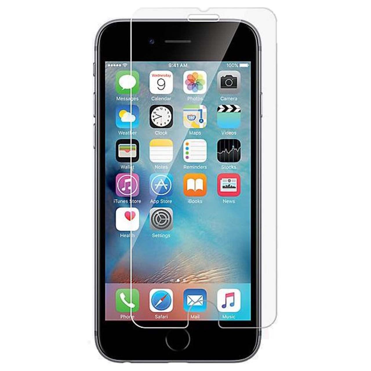 محافظ صفحه نمایش شیشه ای 9 اچ مناسب برای گوشی آیفون 7/7S