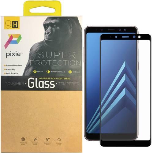 محافظ صفحه نمایش تمام چسب شیشه ای پیکسی مدل 5D  مناسب برای گوشی سامسونگ Galaxy A8 2018