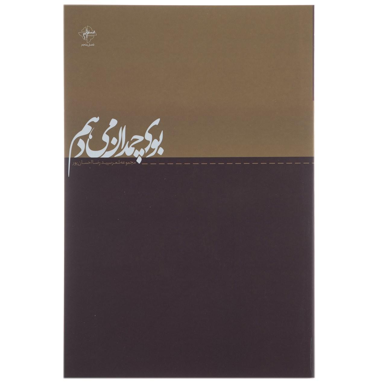 کتاب بوی چمدان می دهم اثر رضا احسان پور