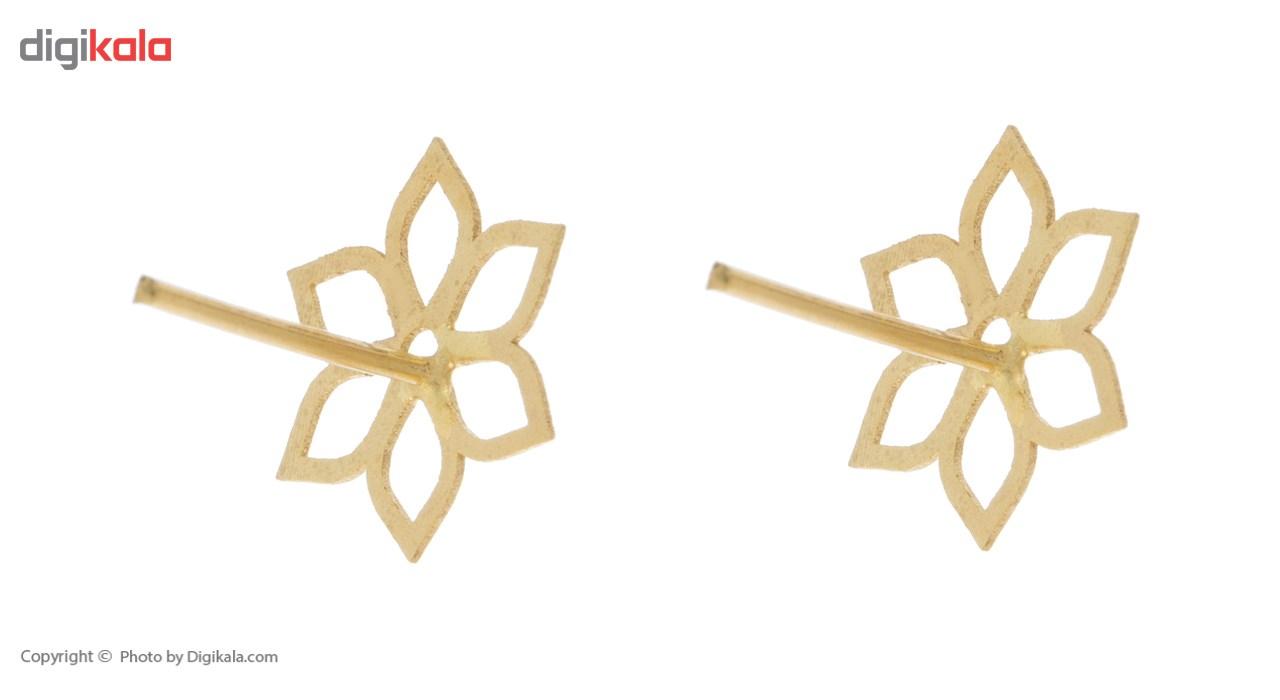 نیم ست طلا 18 عیار ماهک مدل MS0257 main 1 4