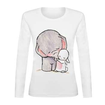 تی شرت آستین بلند زنانه کد TAB01-122