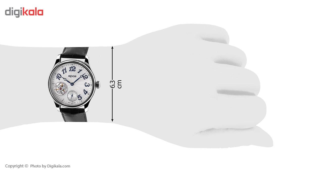 ساعت مچی عقربه ای مردانه ایپوز مدل 3369.193.20.38.25