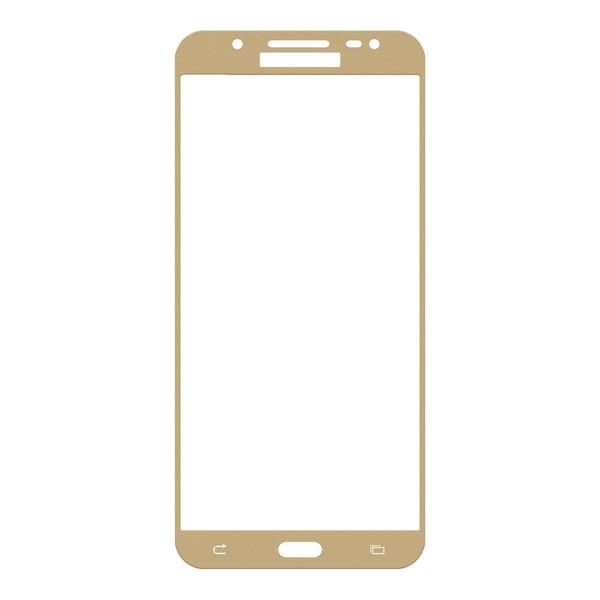 محافظ صفحه نمایش شیشه ای تمپرد مدل Full Cover مناسب برای گوشی موبایل سامسونگ Galaxy J7 2016