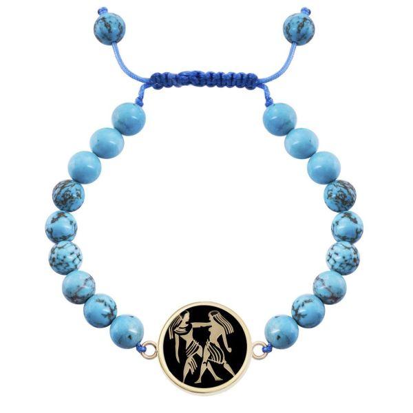 دستبند طلا 18 عیار مرجان مدل0703