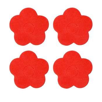 ضربه گیر درب مدل Flower 3 کد NB03 بسته 4 عددی