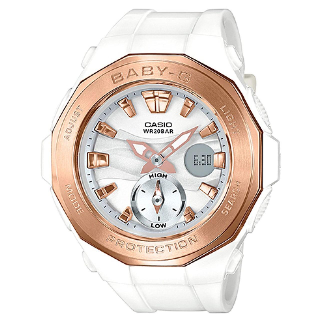 خرید ساعت مچی عقربه ای زنانه کاسیو مدل BGA-220G-7ADR