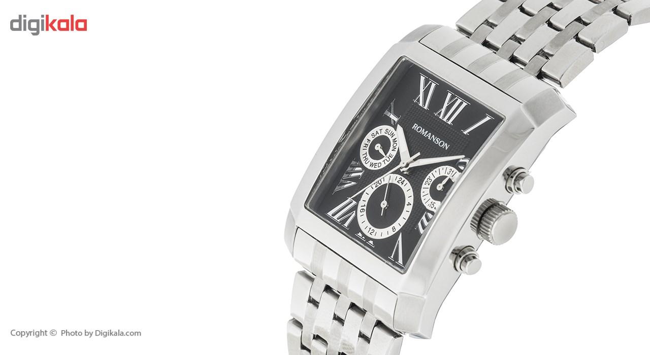 ساعت مچی عقربه ای مردانه رومانسون مدل TM0342BM1WA32W