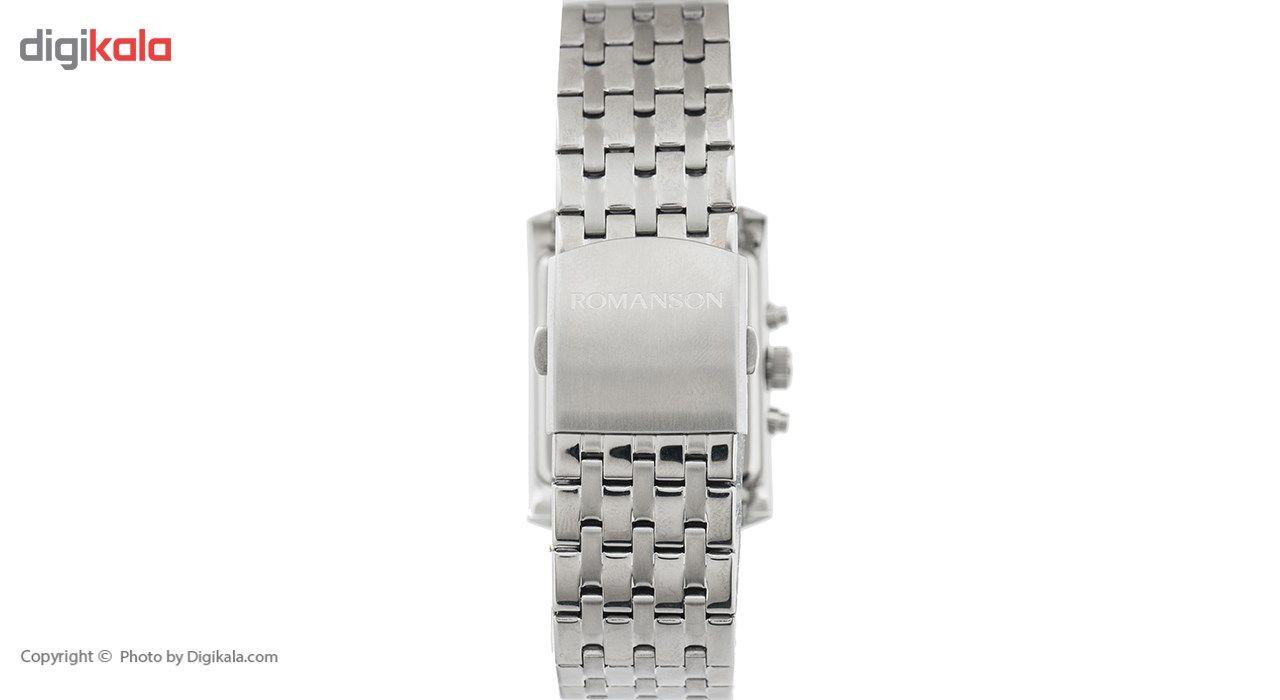 ساعت مچی عقربه ای مردانه رومانسون مدل TM0342BM1WA32W -  - 3
