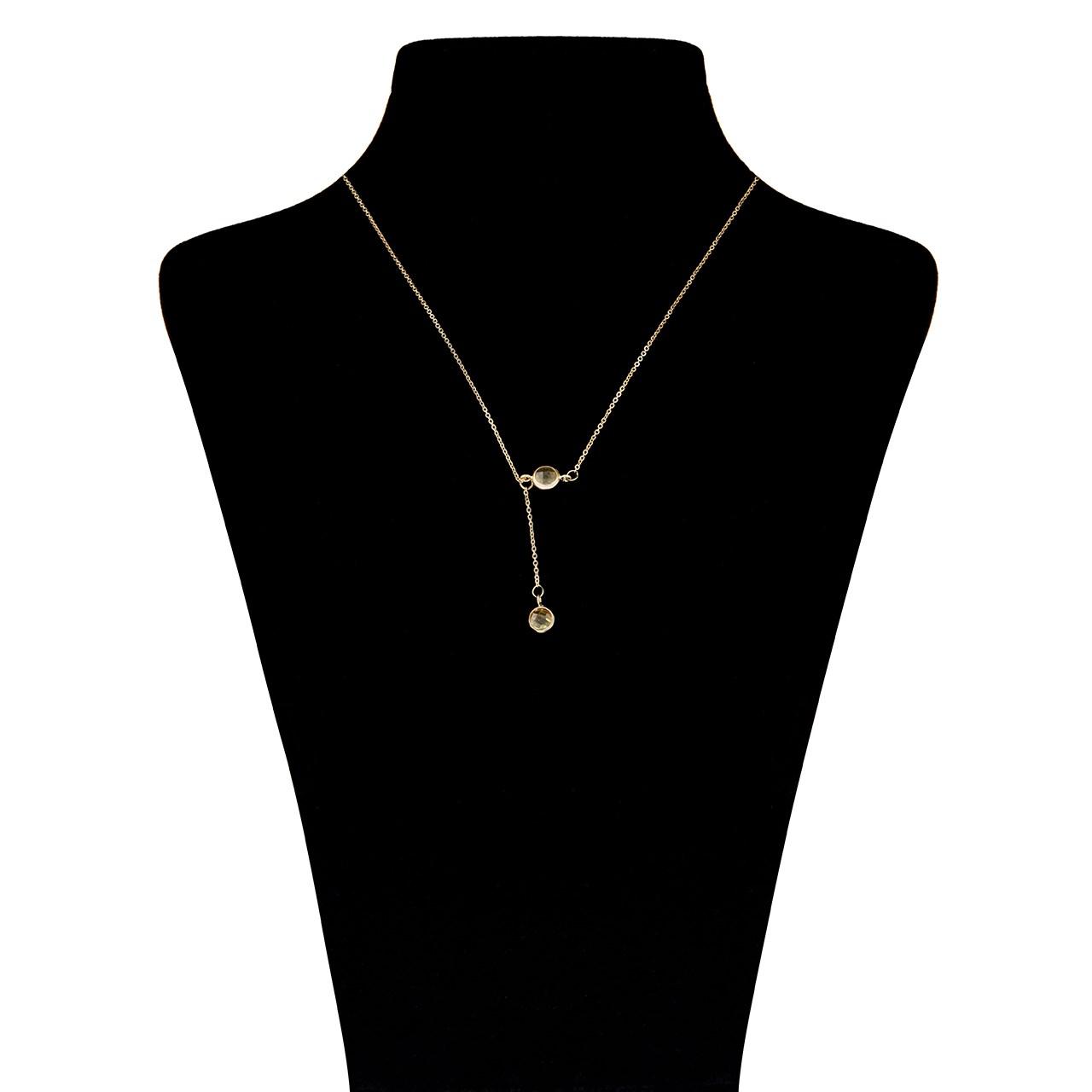قیمت گردنبند طلا 18 عیار ماهک مدل MM0583 - مایا ماهک