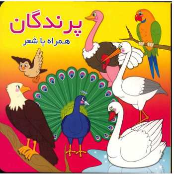 کتاب پرندگان همراه با شعر اثر معصومه سلمان