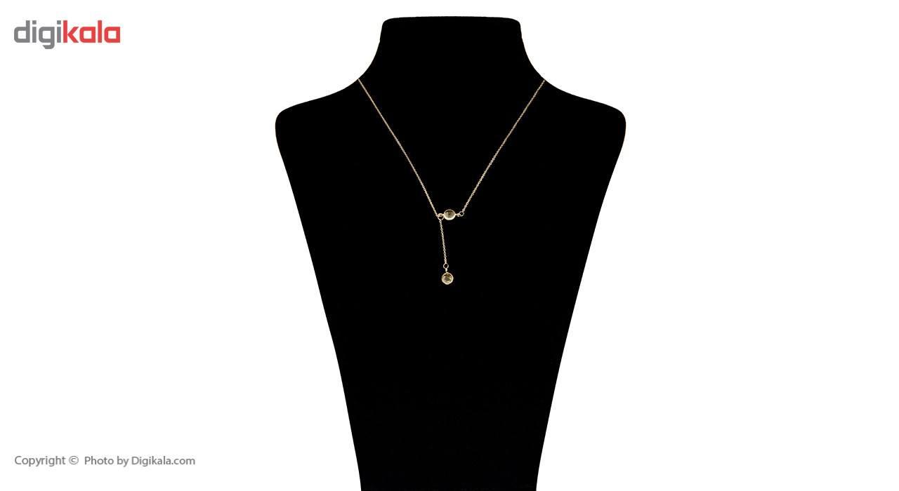 گردنبند طلا 18 عیار ماهک مدل MM0583 - مایا ماهک -  - 1