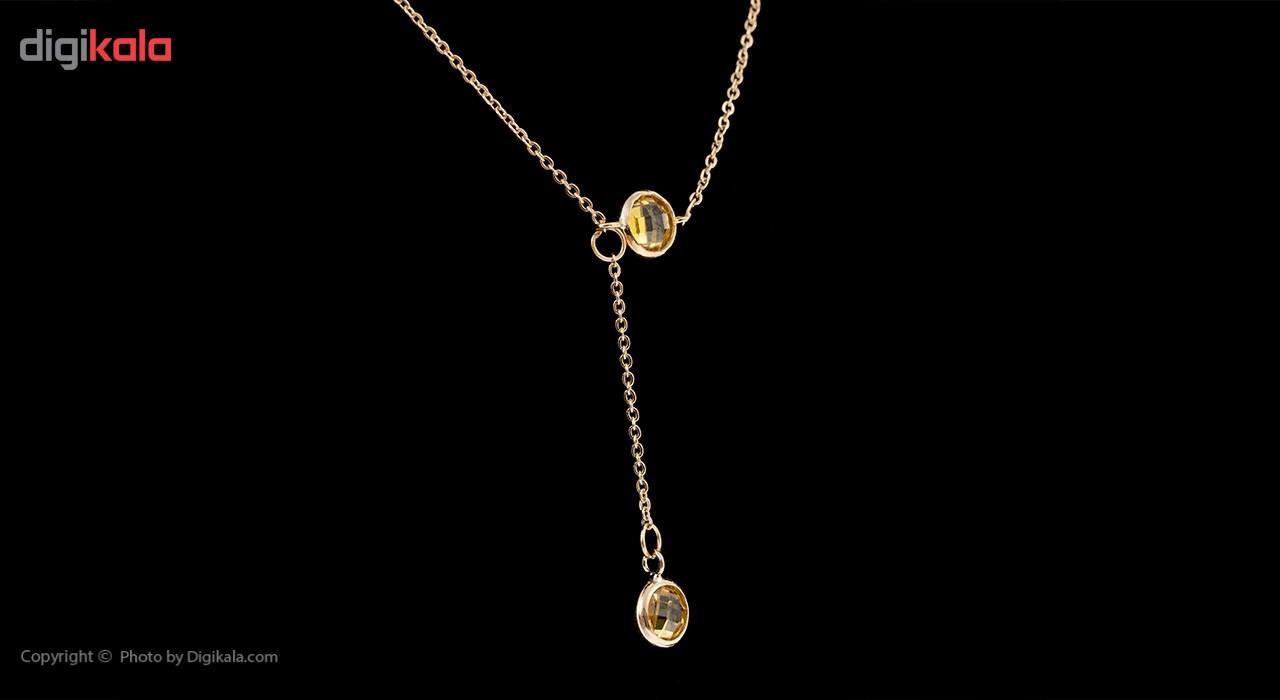 گردنبند طلا 18 عیار ماهک مدل MM0583 - مایا ماهک -  - 2