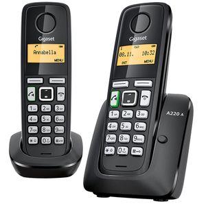 تلفن بی سیم منشی دار گیگاست مدل A220A Duo