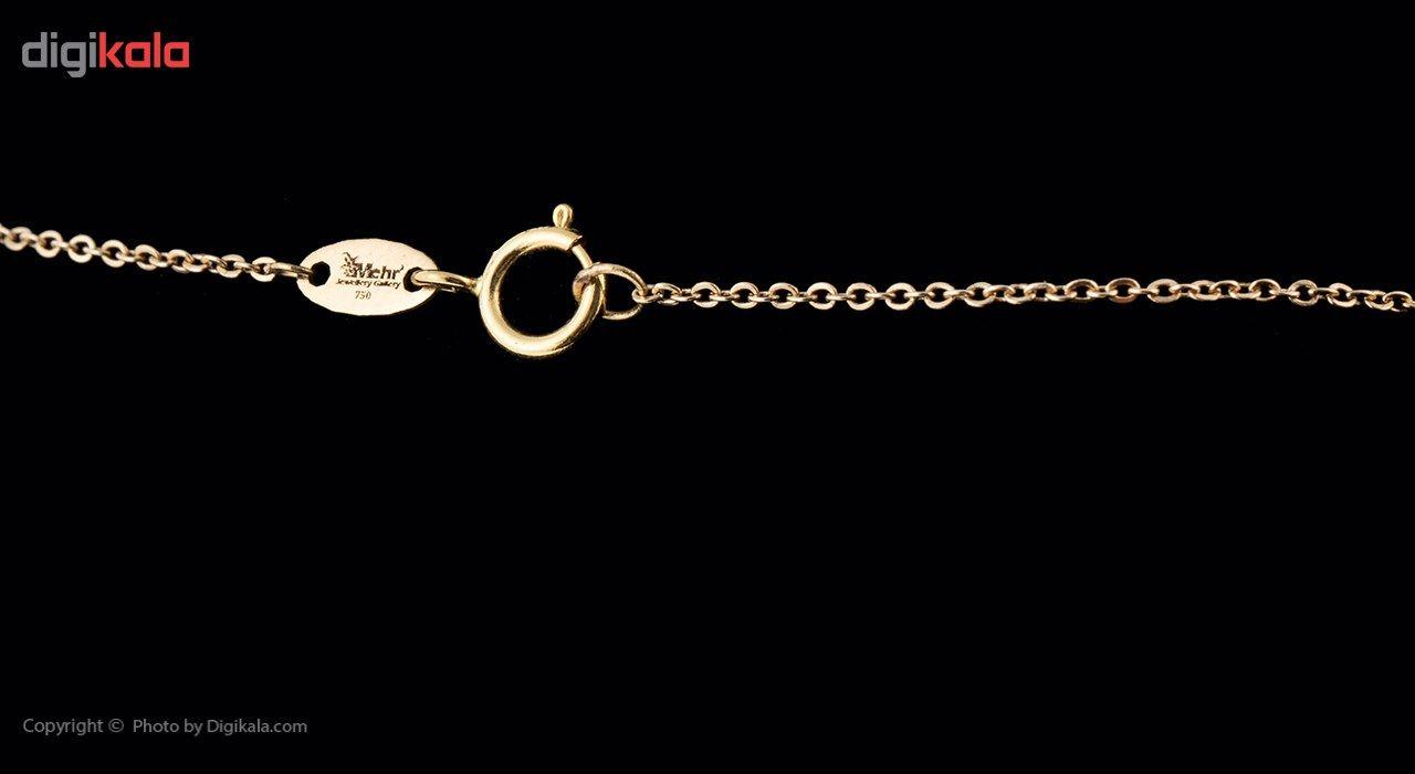 گردنبند طلا 18 عیار ماهک مدل MM0583 - مایا ماهک -  - 3