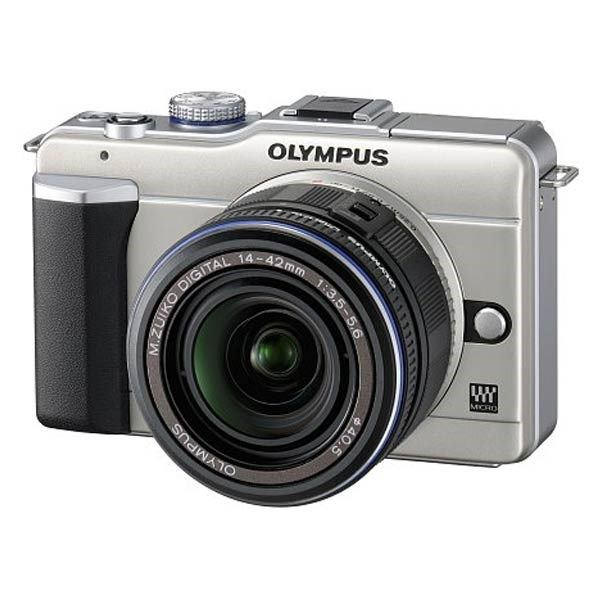 دوربین دیجیتال المپیوس پن ای-پی ال 1 - کیت دو لنز (لنز 42-14 میلیمتری + لنز 150-40 میلیمتری)