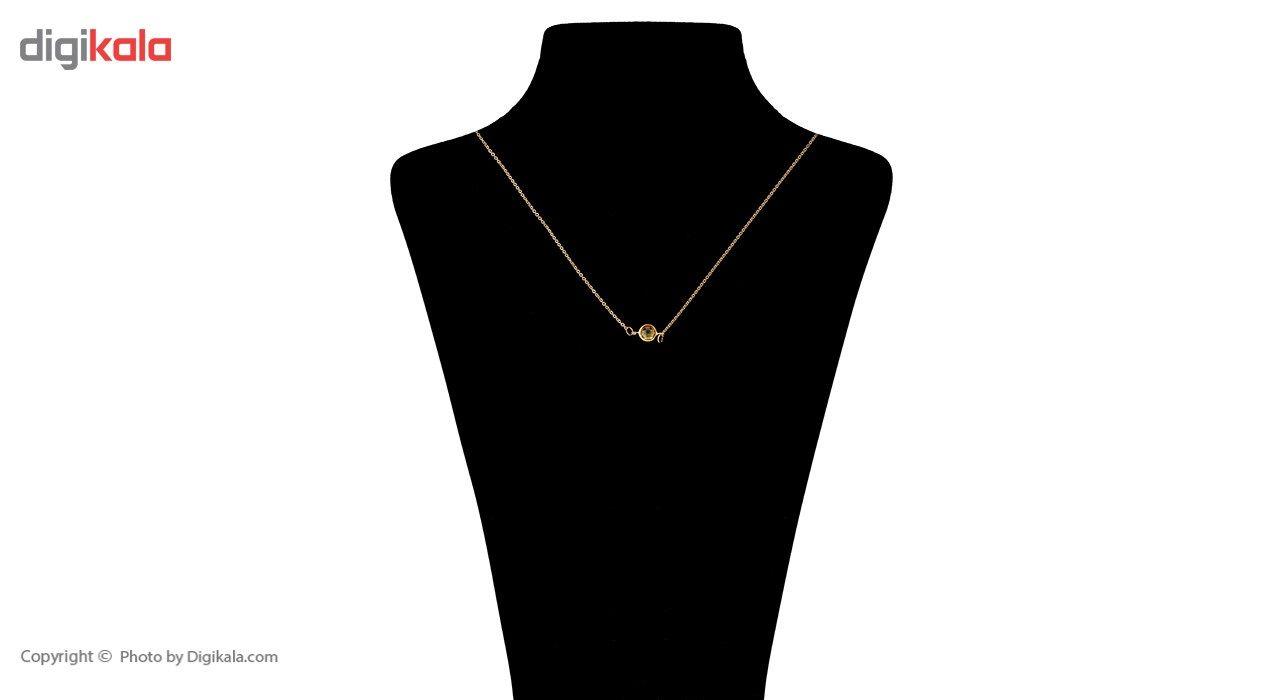 گردنبند طلا 18 عیار ماهک مدل MM0583 - مایا ماهک -  - 4