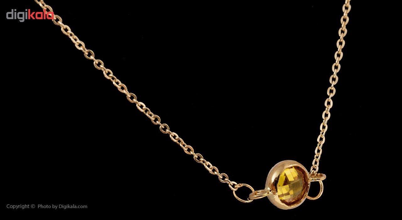 گردنبند طلا 18 عیار ماهک مدل MM0583 - مایا ماهک -  - 6