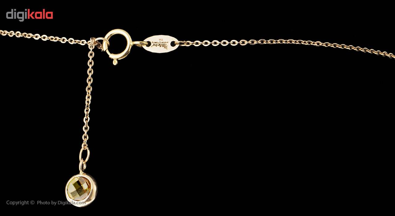 گردنبند طلا 18 عیار ماهک مدل MM0583 - مایا ماهک -  - 7