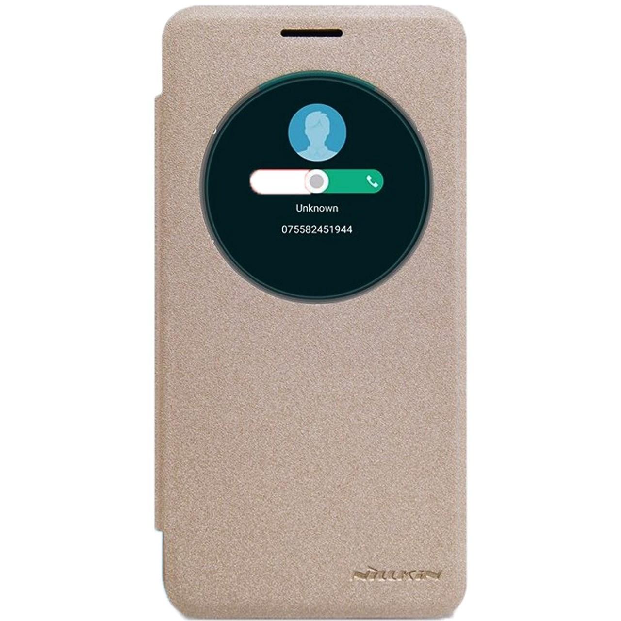 کیف کلاسوری نیلکین مدل New Leather Sparkle مناسب برای گوشی موبایل ایسوس Zenfone Go ZC500