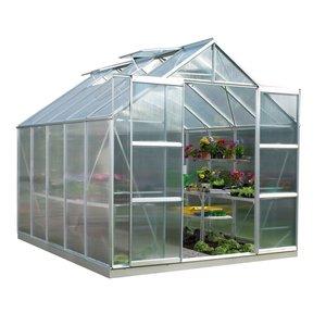 گلخانه پیش ساخته خانه سبز مدل فلورا D45