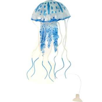 عروس دریایی آبی رنگ مدل  Fluorescent سایز کوچک