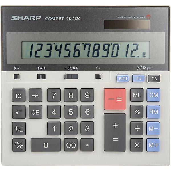 ماشین حساب شارپ مدل CS-2130 | Sharp CS-2130 Calculator