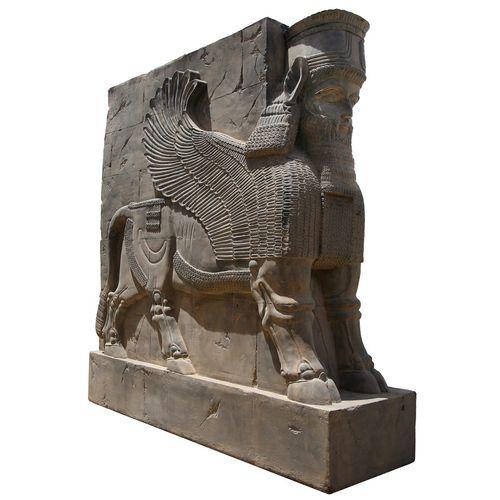 مجسمه تندیس و پیکره شهریار مدل دروازه ملل کد FG710