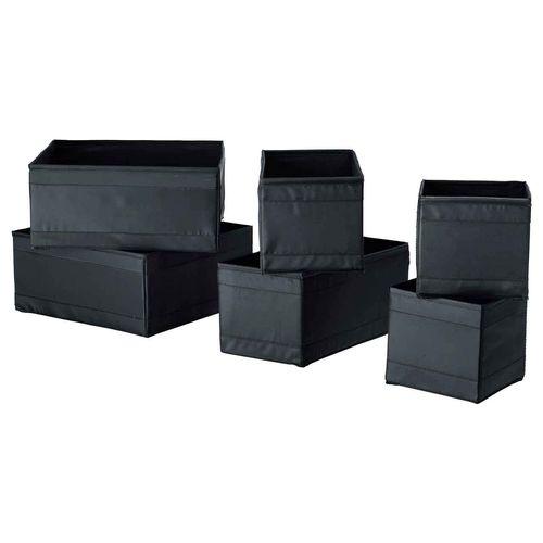 جعبه لباس ایکیا مدل Skubb بسته 6 عددی
