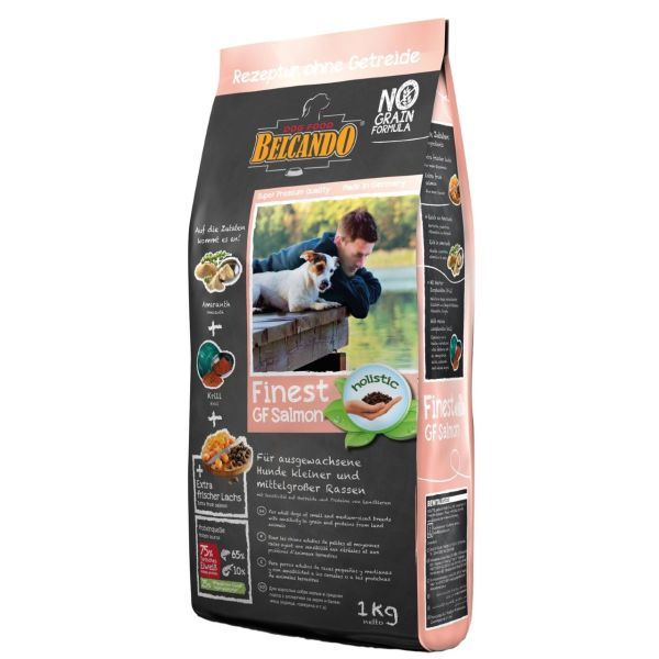 غذای خشک سگ بلکاندو مدل Finest Croc Dock And Rice وزن 1 کیلوگرم