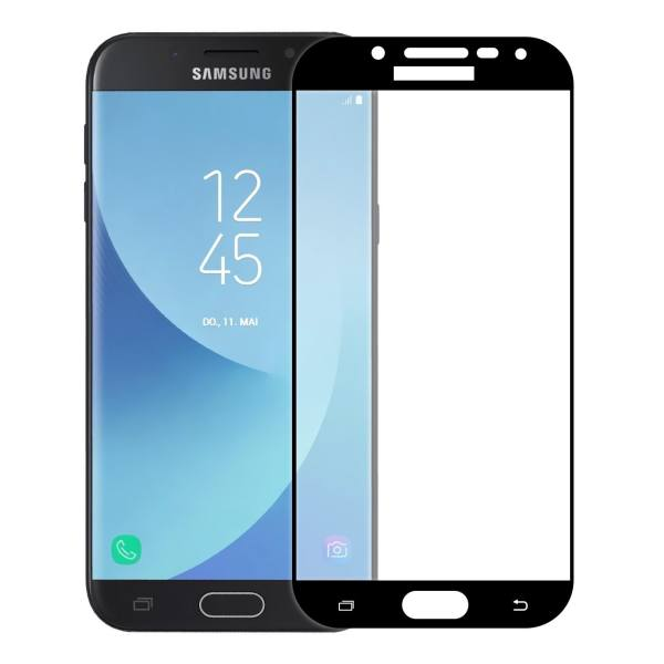 محافظ صفحه نمایش شیشه ای تمپرد مدل Full Cover مناسب برای گوشی موبایل سامسونگ Galaxy J5 Pro