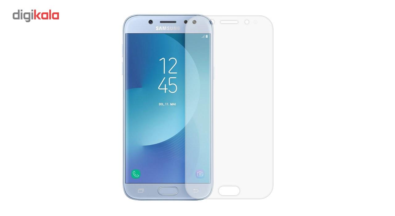 محافظ صفحه نمایش شیشه ای تمپرد مدل Full Cover مناسب برای گوشی موبایل سامسونگ Galaxy J5 Pro main 1 4
