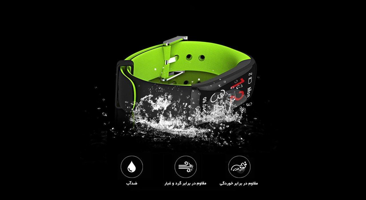 مچ بند هوشمند دابل سیکس مدل AK20 Green -  - 3