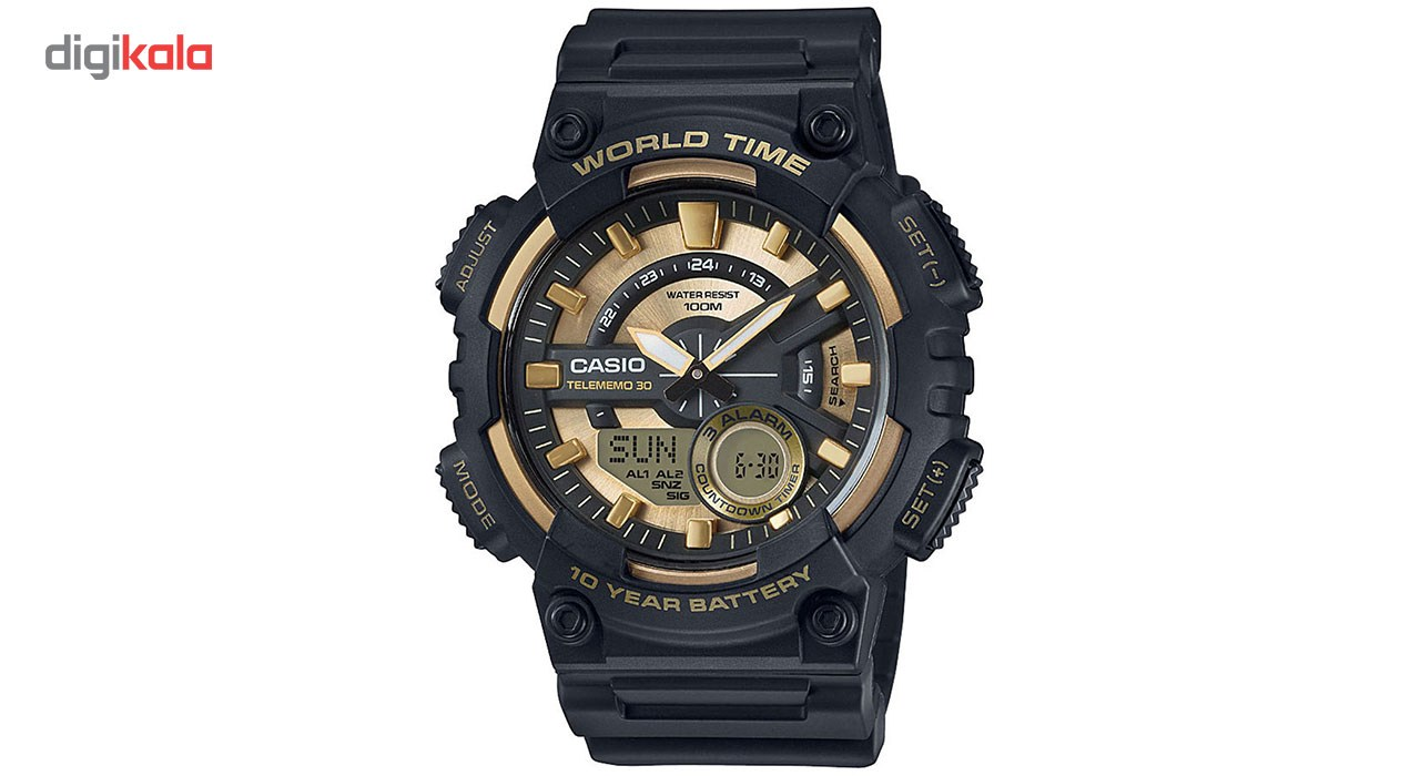 خرید ساعت مچی عقربه ای مردانه کاسیو مدل AEQ-110BW-9AVDF | ساعت مچی