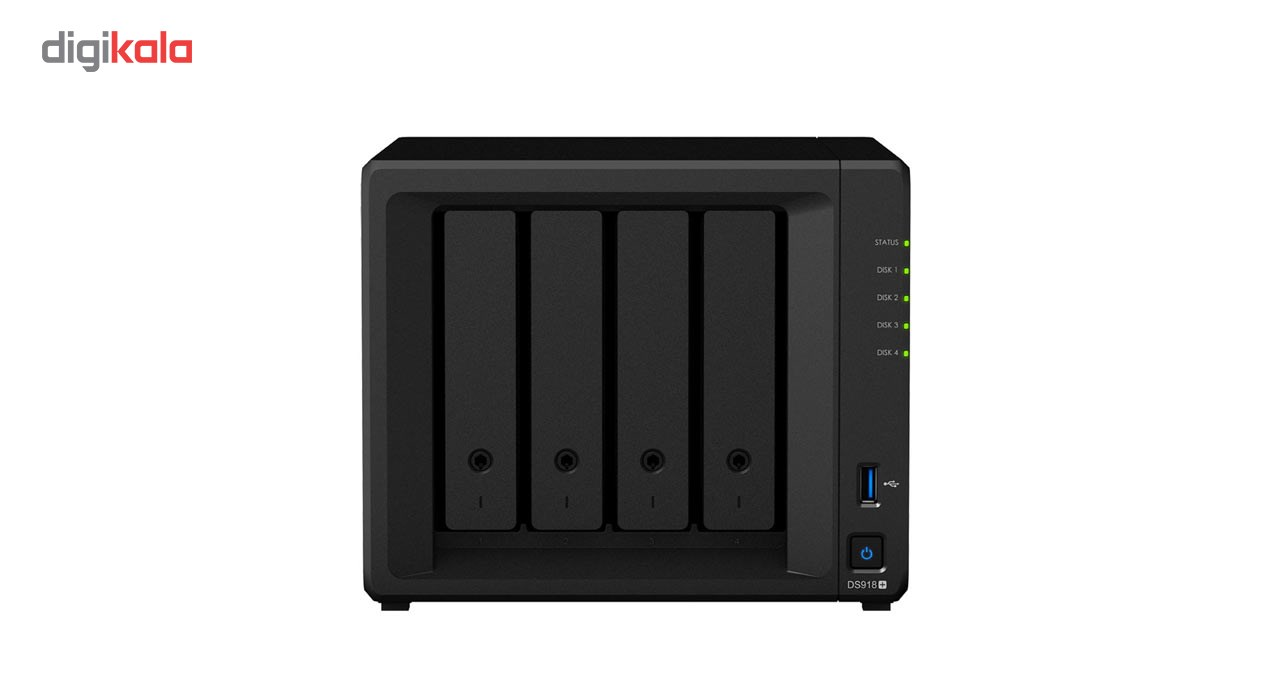ذخیره ساز تحت شبکه 4Bay سینولوژی مدل دیسک استیشن DS918Plus