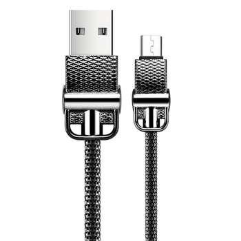 کابل تبدیل USB به microUSB جی روم مدل S-M336 به طول 1 متر