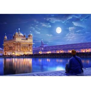 تابلو شاسی آکو طرح Amritsar سایز 20x28 سانتی متر