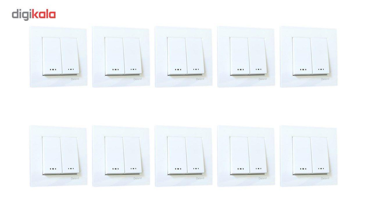 کلید دو پل دلند مدل آسا بسته 10 عددی main 1 1
