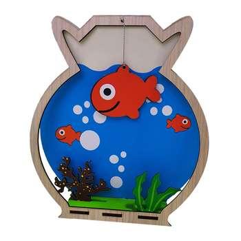 استیکر چوبی جیک جیک مدل تنگ ماهی