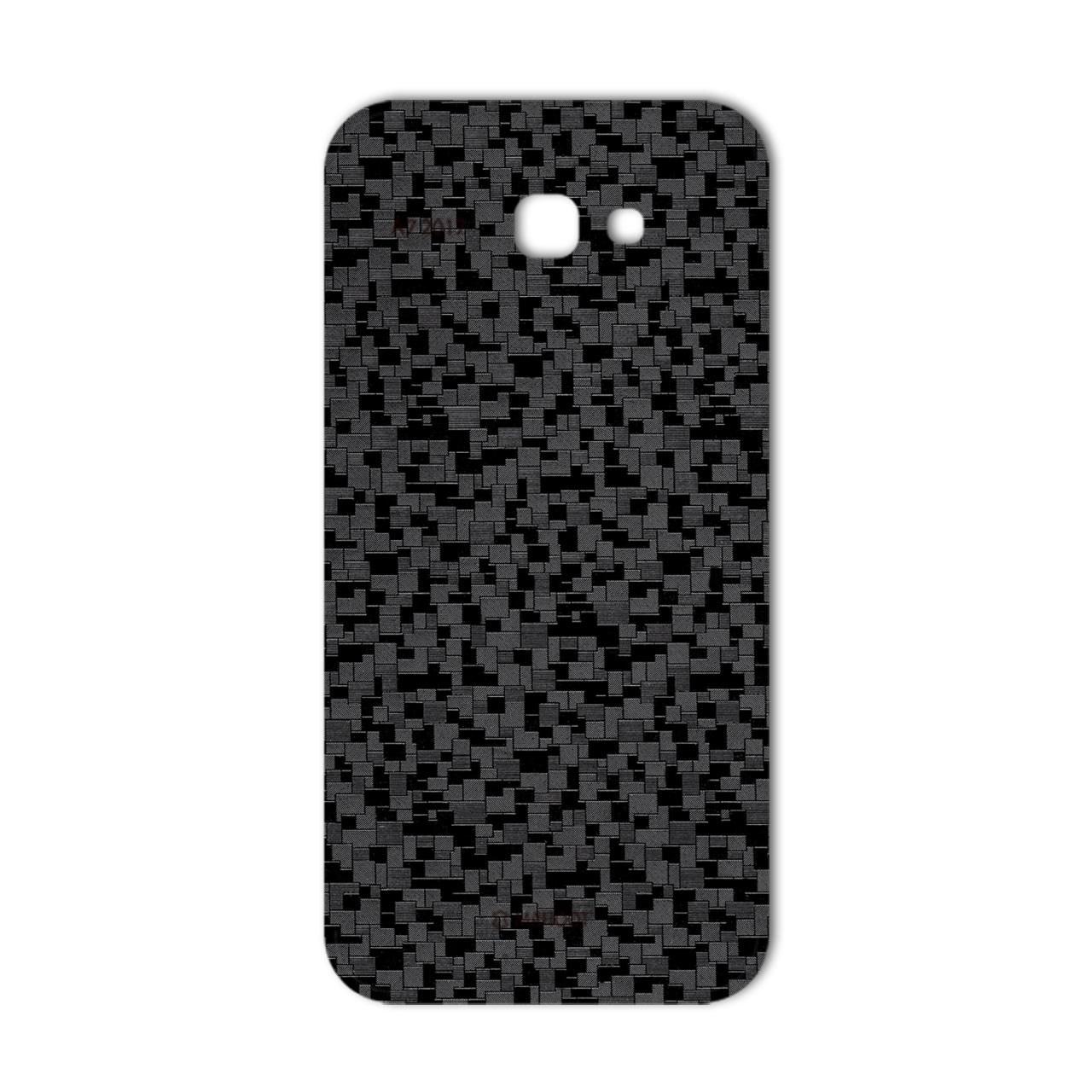 برچسب تزئینی ماهوت مدل Silicon Texture مناسب برای گوشی  Samsung A7 2017