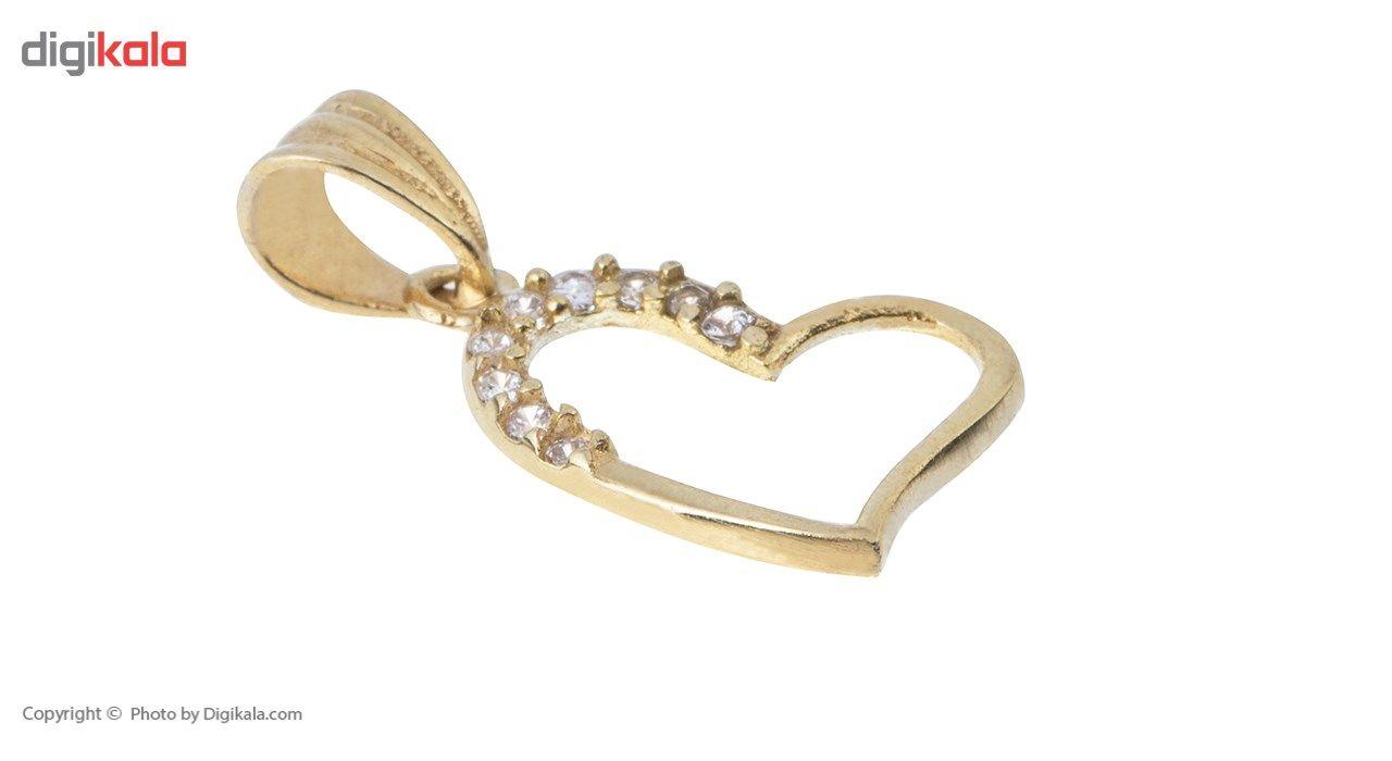 آویز گردنبند طلا 18 عیار ماهک مدل MM0617 - مایا ماهک -  - 1