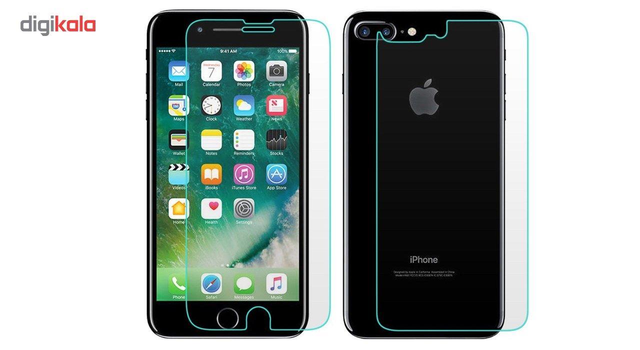 محافظ پشت و صفحه نمایش شیشه ای تمپرد مناسب برای گوشی موبایل اپل آیفون 4 / 4s main 1 2