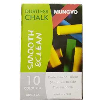 گچ رنگی مانگیو  مدلADC-10- بسته 10 عددی