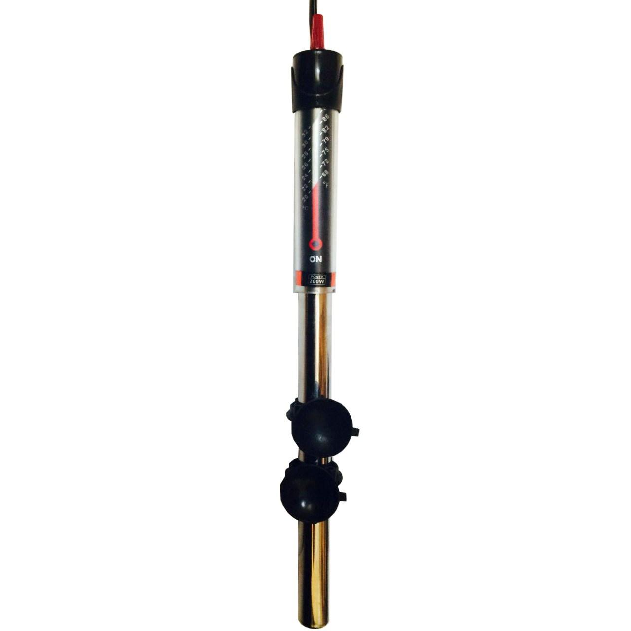 بخاری استیل ضدزنگ آکواریوم آکوا مدل 100W ST-888