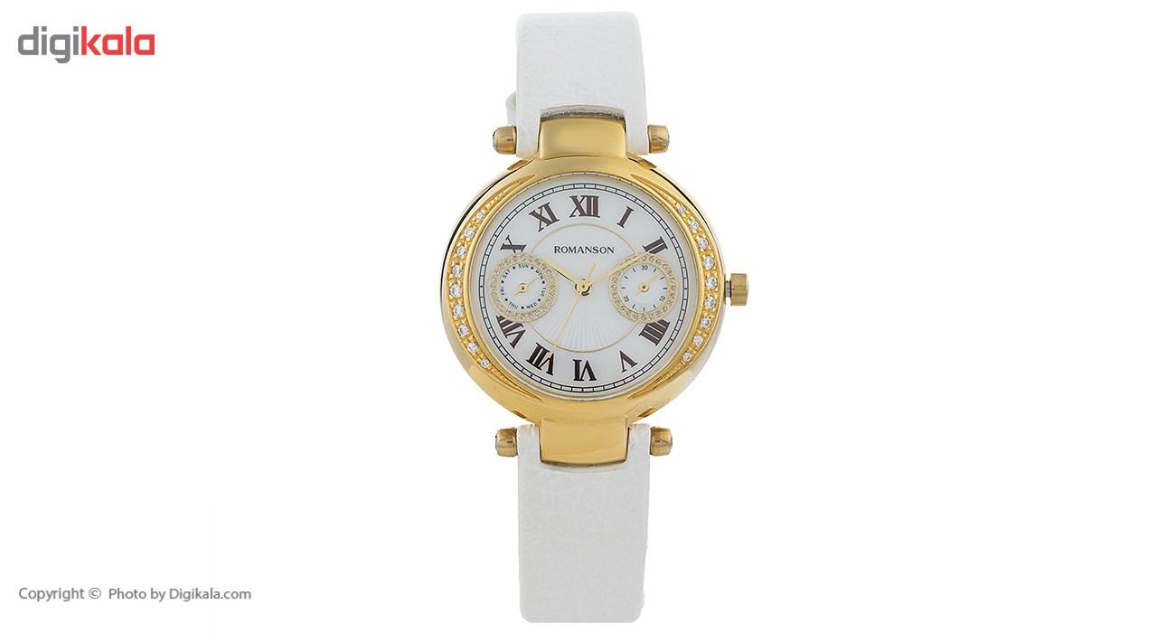 ساعت مچی عقربه ای زنانه رومانسون مدل RL6A18QLWGM1C4