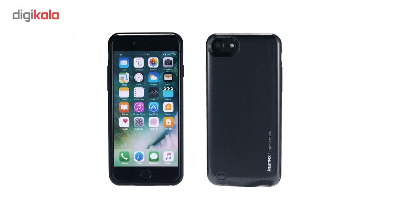 کاور شارژ ریمکس مدل Energy Jacket ظرفیت 2400 میلی آمپر ساعت مناسب برای گوشی موبایل اپل iPhone 7