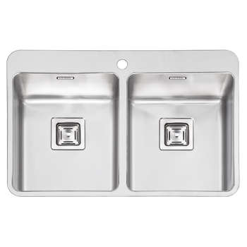 سینک ظرفشویی ایلیا استیل مدل 6012 توکار