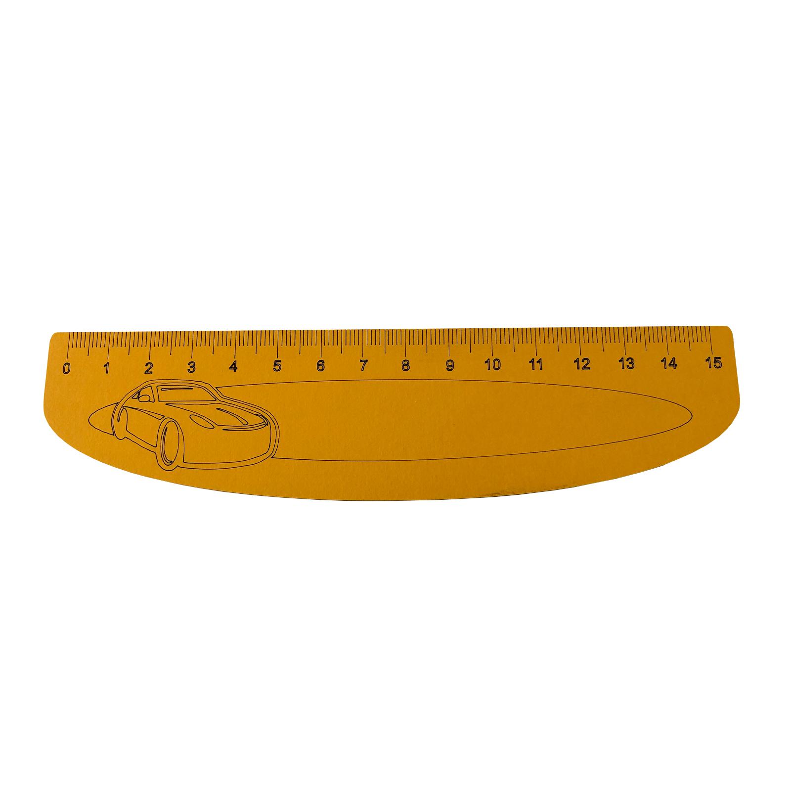 خط کش 15 سانتی متری کد kh8